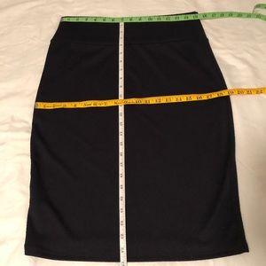LuLaRoe Skirts - Lularoe Cassie Skirt - Textured Navy